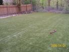 97-grass done, await clean up of dirt