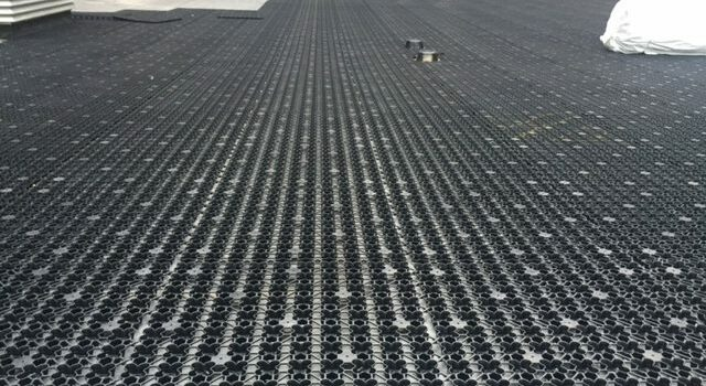Drainage grid by ForeverLawn Northern Ohio
