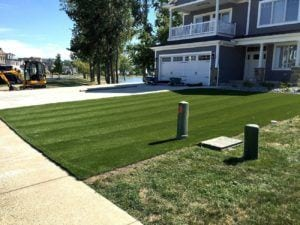 Marblehead, OH ForverLawn Landscape Grass Project