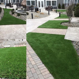 The DuPont™ ForeverLawn® Select Synthetic Grass